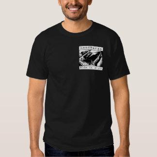 LandBarge ritt i stilsvartT-tröja T Shirts
