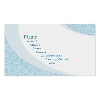 Landblått Visitkort