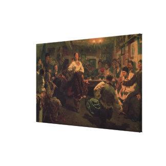 Landfestival, 1881 canvastryck