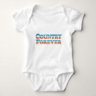 Landför evigt - kläder endast tee shirt