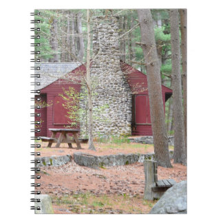 Landkabinanteckningsbok Anteckningsbok Med Spiral