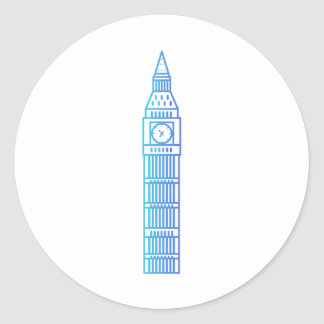 Landmarks - stora Ben klistermärke