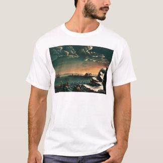 Landning av vallfärdar vid Michele Felice Corne T Shirts