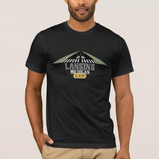 Landningsbana 28 - Lansing Michigan LAN Tshirts
