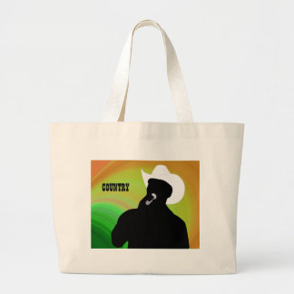 Landsångare silhouette, gröntgultbaksida jumbo tygkasse