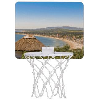 Landskap antennen beskådar Piriapolis Uruguay Mini-Basketkorg