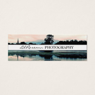 Landskap - fotografi litet visitkort