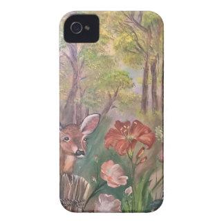 landskap målar målning räcker konstnaturen Case-Mate iPhone 4 fodral