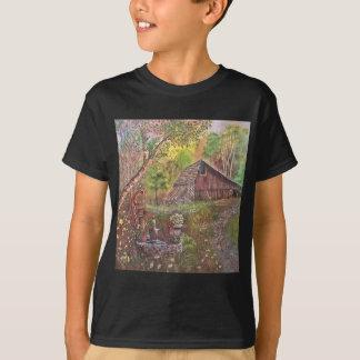 landskap målar målning räcker konstnaturen t shirts