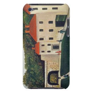 Landskap med en båge och tre hus, 1907 (olja iPod Case-Mate skydd