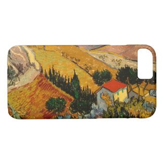 Landskap med huset & ploughmanen, Vincent Van Gogh
