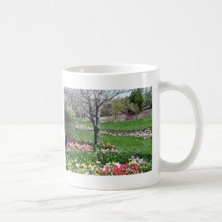 landskap springtime kaffemugg