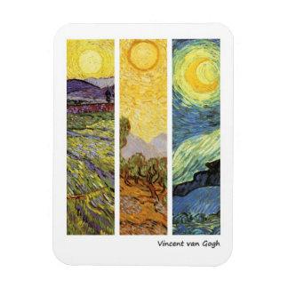 Landskap vid Vincent Van Gogh Magnet
