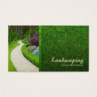 Landskap visitkorten för visitkort