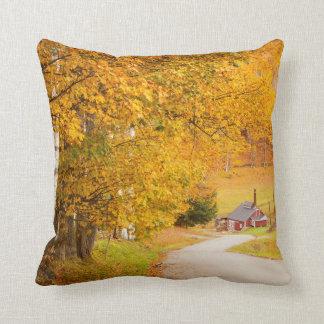 Landvägen som leder till sockret, mal dekorativ kudde