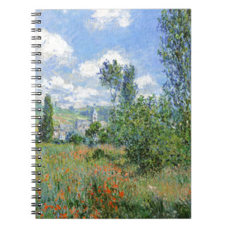 Lane i vallmofälten - Claude Monet Anteckningsbok