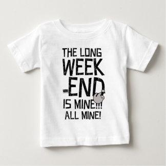 Lång helg för arbets- dag, lång helg tee shirts