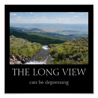 Långa View kan vara deprimerande Print