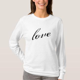 Långärmad för kärlekdamAA Hoody (passar), T Shirt