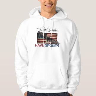 LångärmadHoodie för trumf MAGA Sweatshirt Med Luva