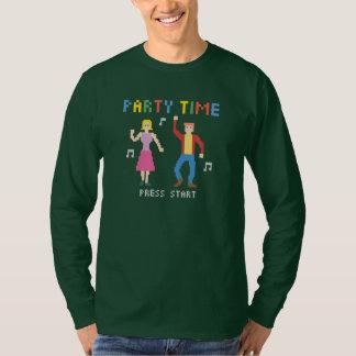långärmadskjorta för party 8bits tee