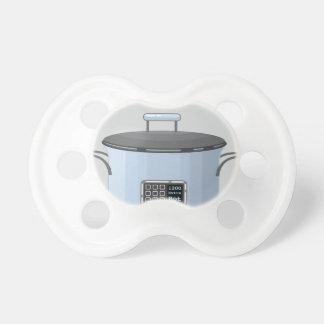 Långsam vektor för matlagningbilskrällekruka napp