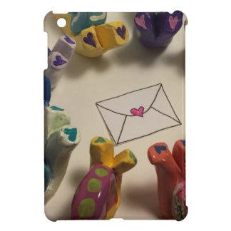 Långsamt besegra sniglar iPad mini mobil fodral