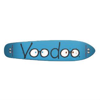Långt Skateboarddäck för Voodoo (blått) Old School Skateboard Bräda 21,6 Cm