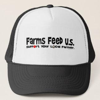 Lantgårdmatning U.S. Truckerkeps