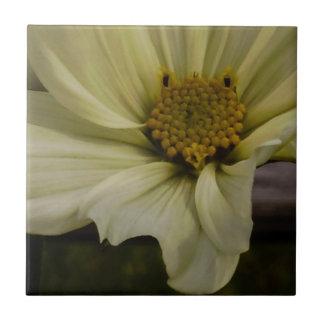 Lantlig blomma kakelplatta