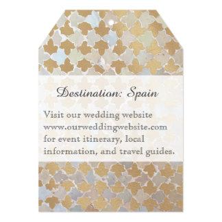 Lantlig destination för romantik som | gifta sig 12,7 x 17,8 cm inbjudningskort