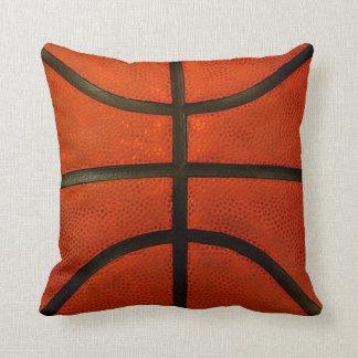 Lantlig ha på sig basketdekorativ kudde