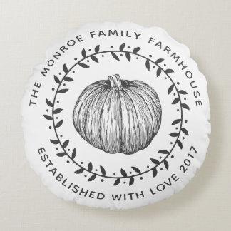 Lantlig kran för familjlantbrukarhempumpa rund kudde