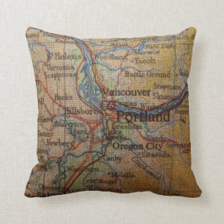 Lantlig Portland Oregon karta Kudde