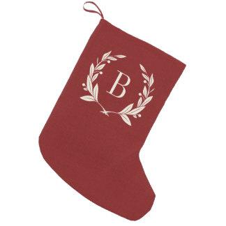 Julstrumpa med Monogram