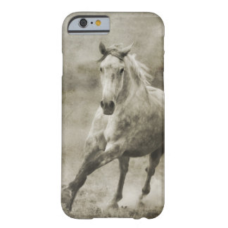 Lantlig snabbt växande Andalusian häst Barely There iPhone 6 Fodral