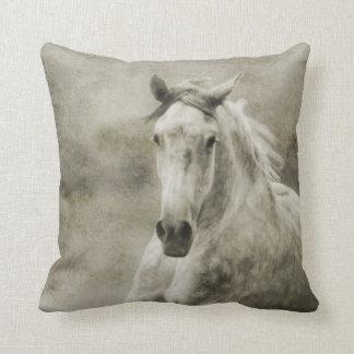 Lantlig snabbt växande Andalusian häst Prydnadskudde
