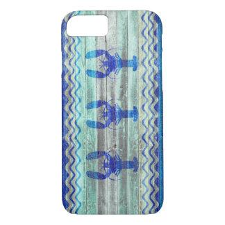 Lantliga marinblåa kust- hummer