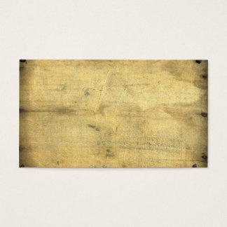 Lantligt för trä för trendig tom vintage åldrats visitkort