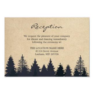 Lantligt grästrädKraft gifta sig specificerar 8,9 X 12,7 Cm Inbjudningskort
