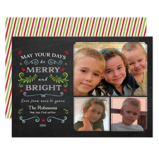 Lantligt nyckfullt kort för svart tavlahelgdag 12,7 x 17,8 cm inbjudningskort