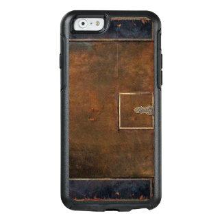 Lantligt täcker tufft gammalt läder OtterBox iPhone 6/6s fodral