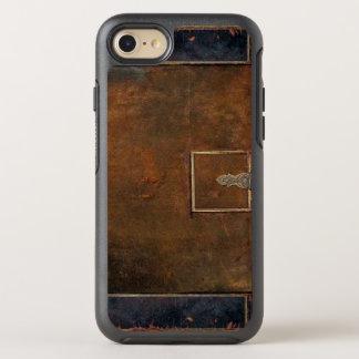 Lantligt täcker tufft gammalt läder OtterBox symmetry iPhone 7 skal