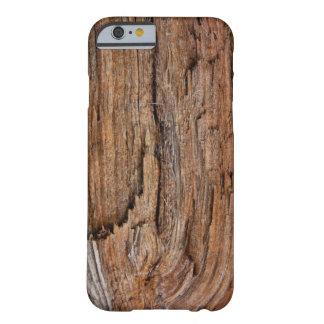 Lantligt trä barely there iPhone 6 skal
