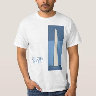 Laotisk Che skridskomonument Tee Shirts