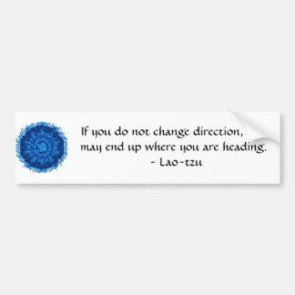 Laotisk tzu för Motivational inspirera Bildekal