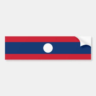 Laotiska/Laotian Laos/flagga Bildekal