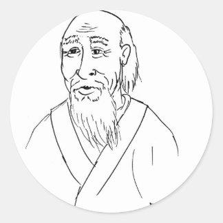 Laotiska Tzu Runt Klistermärke