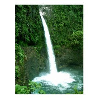 LaPaz vattenfall, Costa Rica Vykort