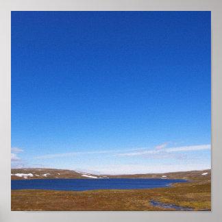 Lapland norge print